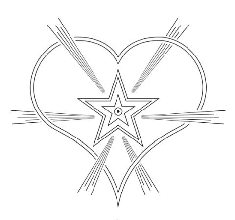 Sahaj Marg Raja Yoga Meditation - Esoteric Symbol